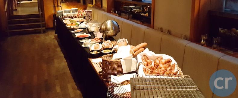 Breakfast buffet at George Prime Steak