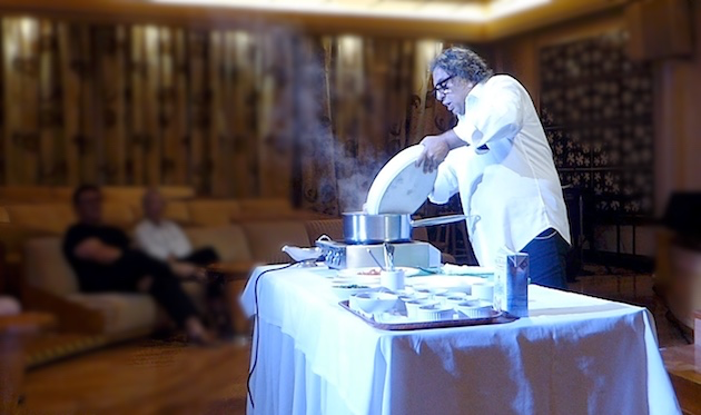 Chef Vij shows us how to create his signature Curry Chicken
