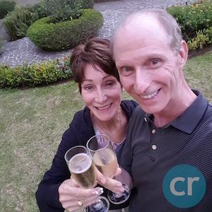 Rickee Richardson and Chris Dikmen co-editors of CruiseReport.com