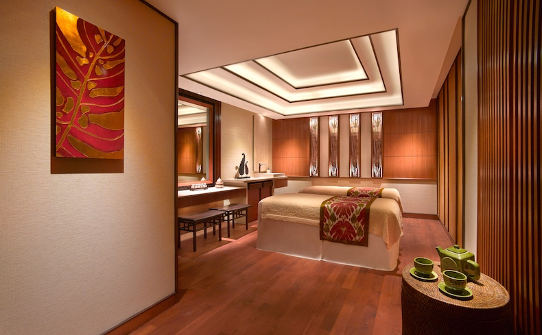 Couples treatment room at CHI, The Spa