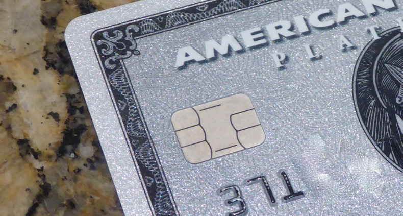 New Amex cards have the chip in them