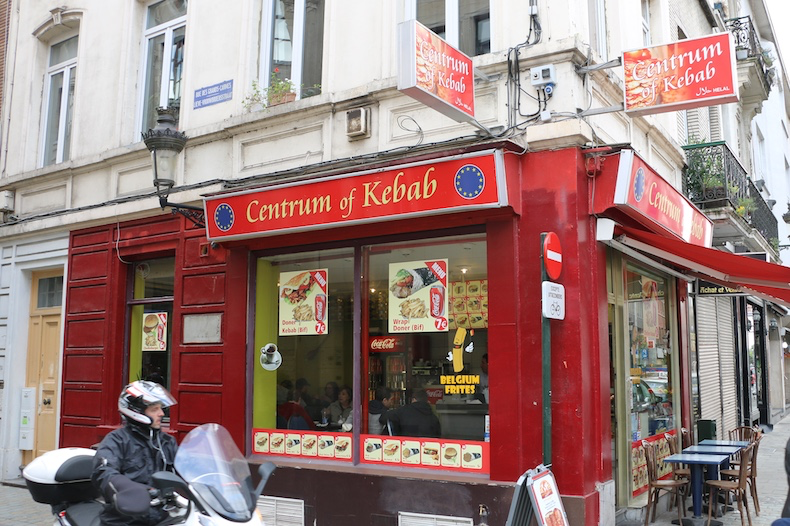 Kebab joints are in every European city