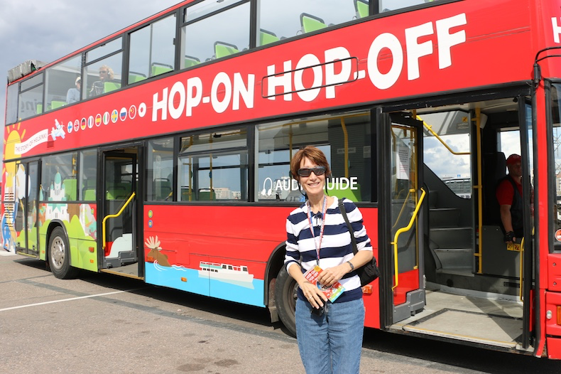 Hop On/Hop Off buses are a great value and a lot of fun, too!