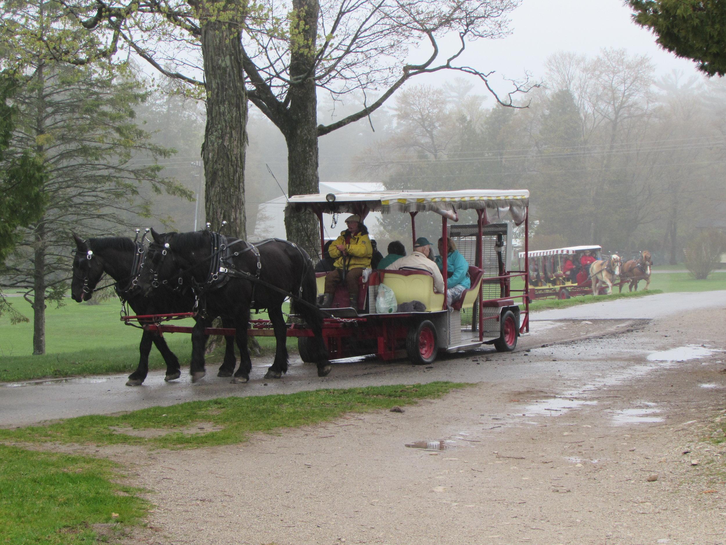 Mackinac Island Transportation