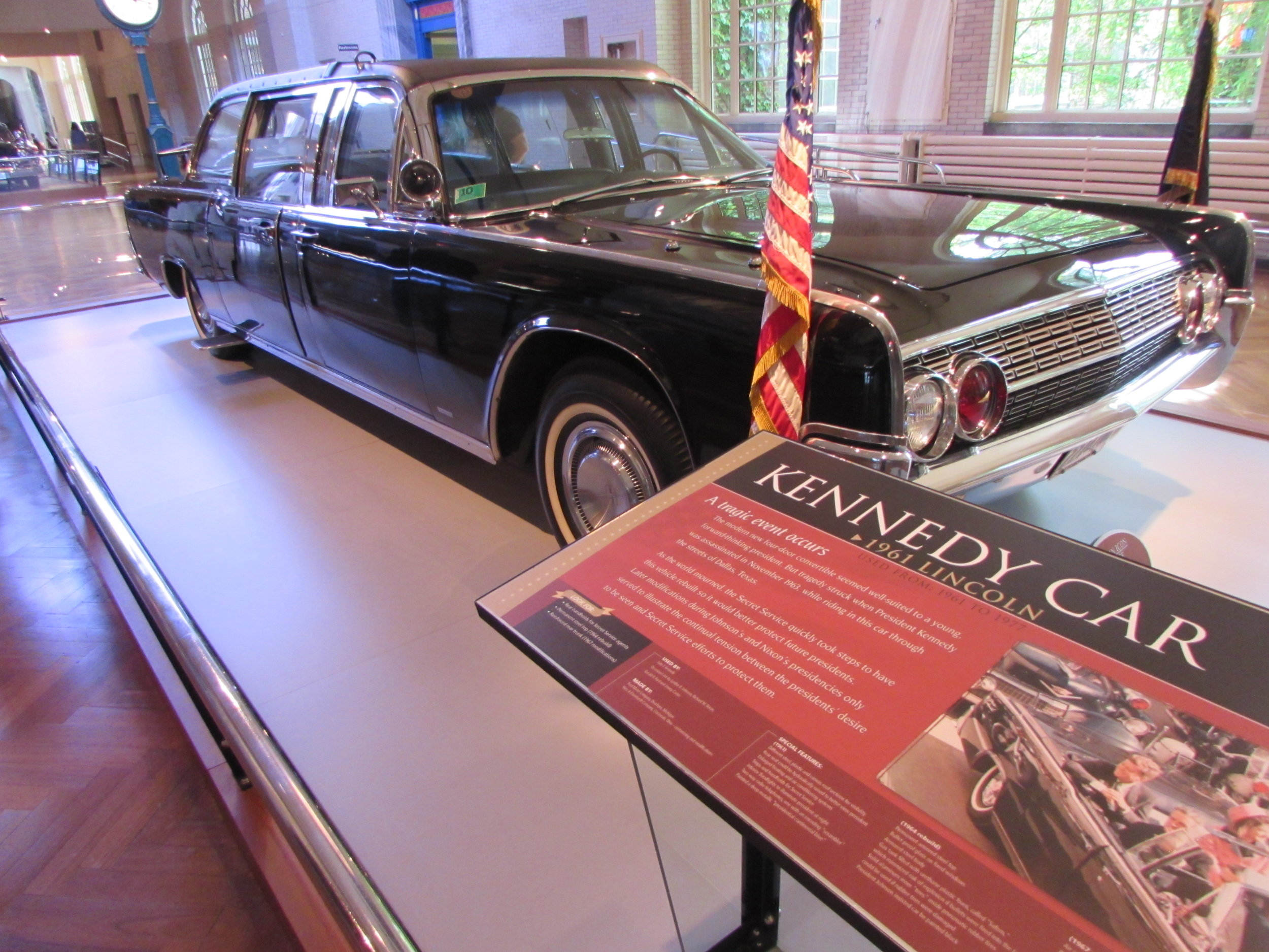 From Dallas 1963. The Kennedy Car
