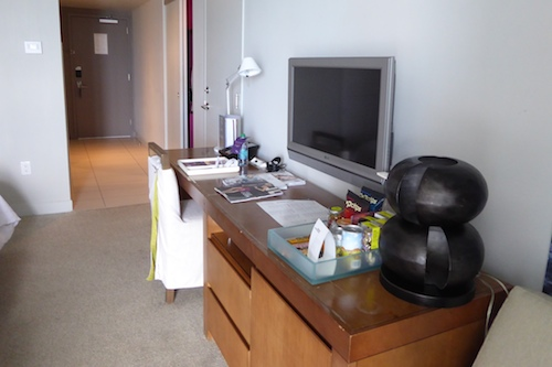 The desk in our Fabulous Room