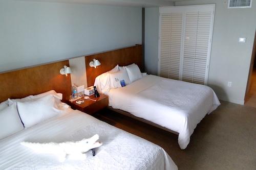 Queen-size beds