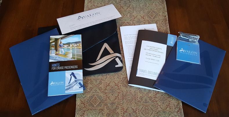 Cruise documents for Christmas Markets cruise on Avalon Vista   Avalon Waterways   CruiseReport