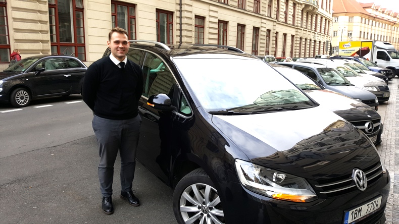 Our driver with Best Trips Prague