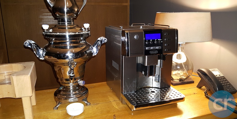 Coffee machine in Maharal Club