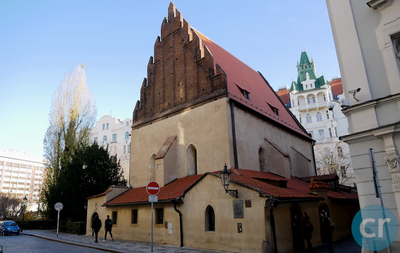 The Old New Synagogue opened in 1270