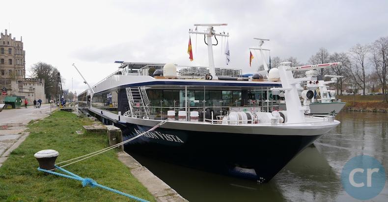 Avalon Vista docked in Regensburg, Germany
