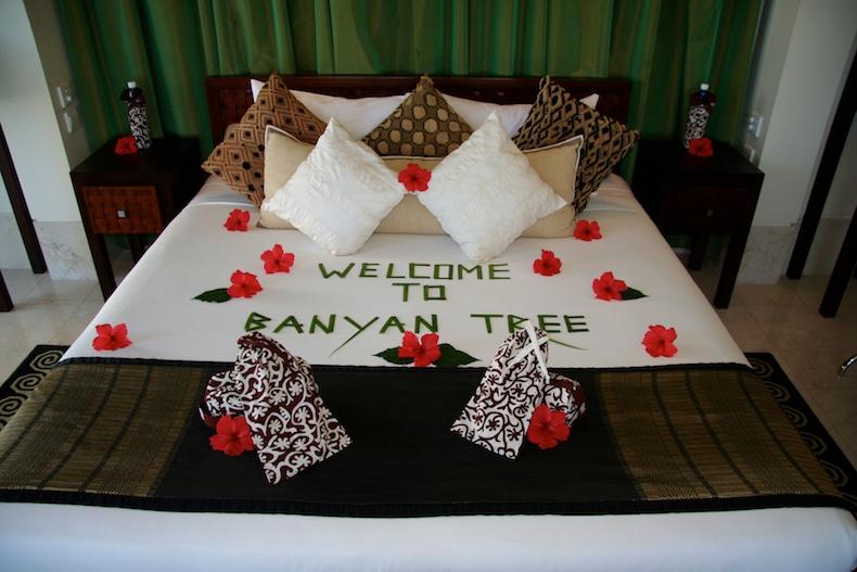 Romantic welcome | Banyan Tree - Male, Seychelles | CruiseReport