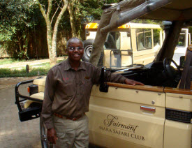 Cosmas, our excellent driver and guide