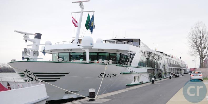 Savor docked in Vienna