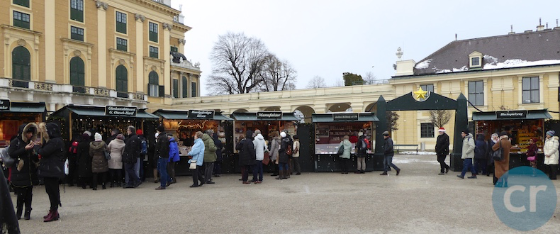 Christmas Market at Schönbrunn Palace