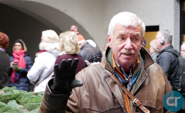 Rudy, our local guide in Passau