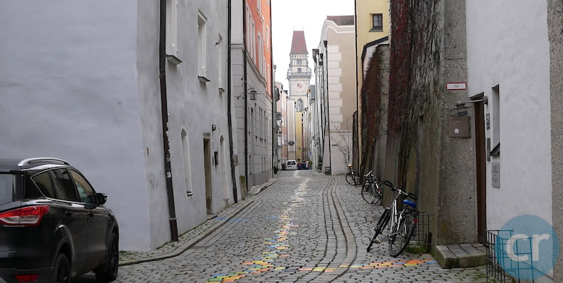 cobblestone streets in passau germany | cruisereport
