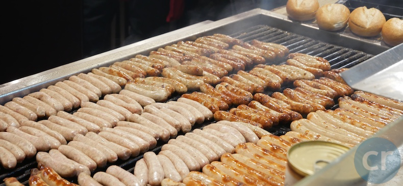 Nuremburg sausages
