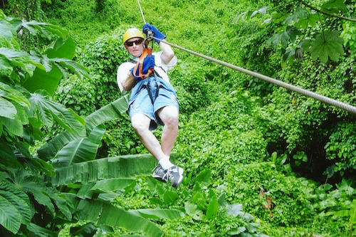 Sample photo from Runners zip line adventure