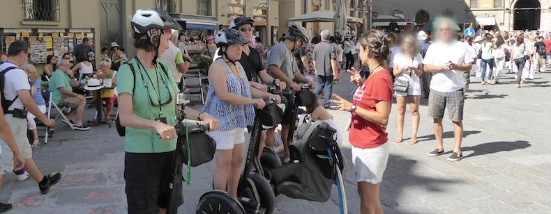 Cristina explains the history of The Duomo