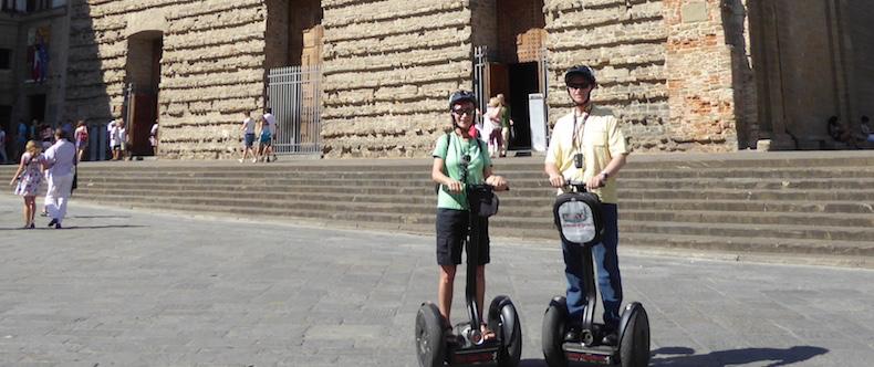 In front of San Lorenzo Basilica