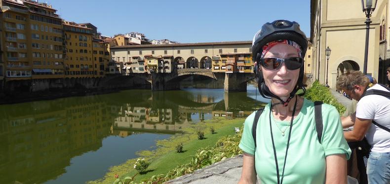 Rickee at Ponte Vecchio