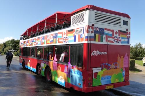 Red Buses HoHo in Copenhagen