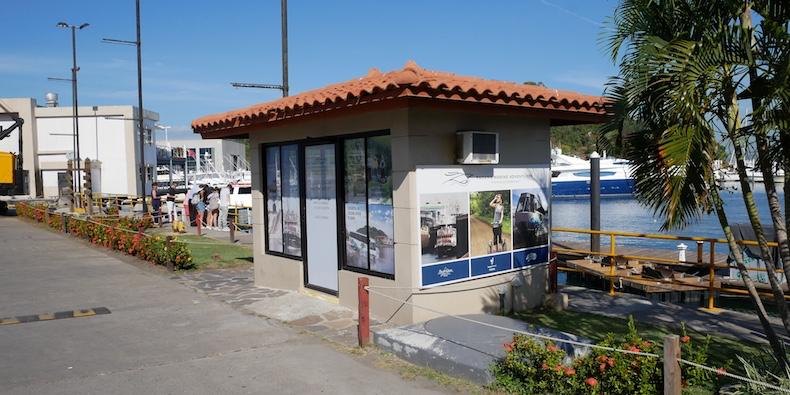Panama Marine Offices at Flamenco Marina