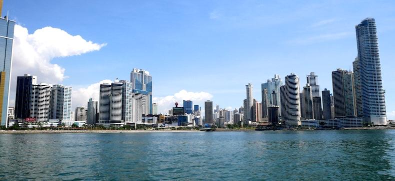 Skyline of Panama City is impressive