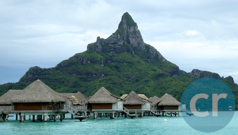 Bora Bora is one of the most popular honeymoon destinations on Earth