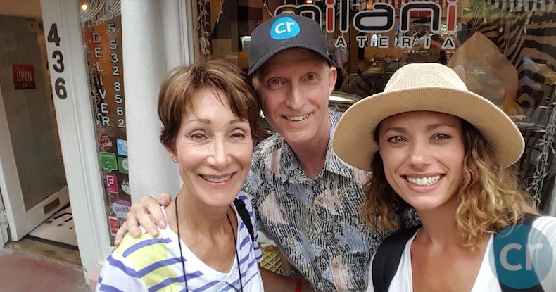 Rickee Richardson | Chris Dikmen | South Beach Food Tour | CruiseReport