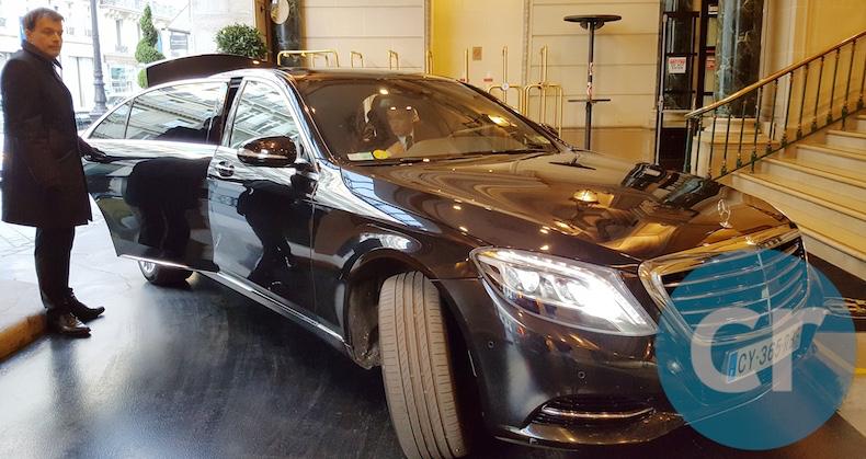 S-Class Mercedes from PML