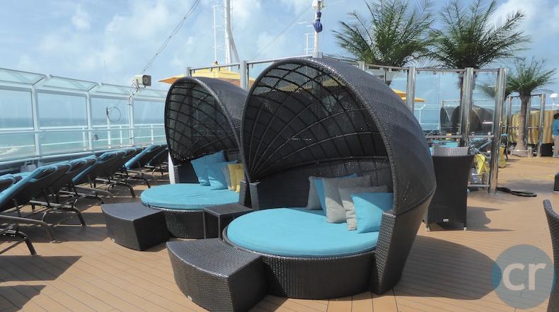 Shaded Cocoons at Serenity | CruiseReport