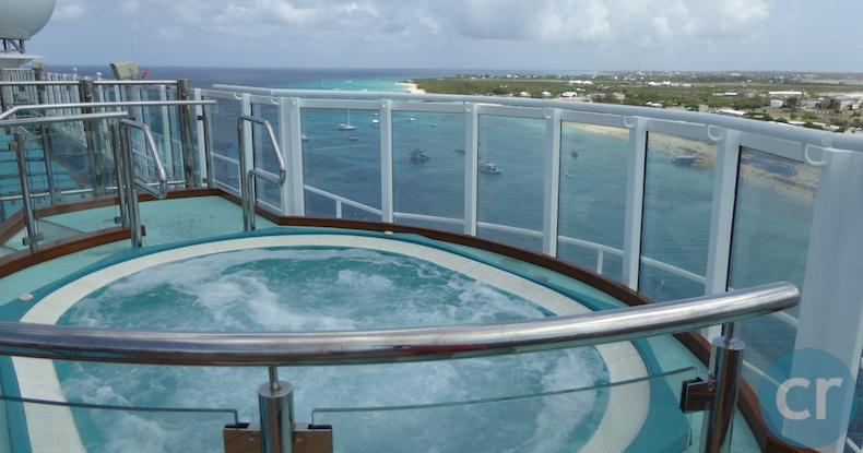 Hot Tubs at Serenity | CruiseReport