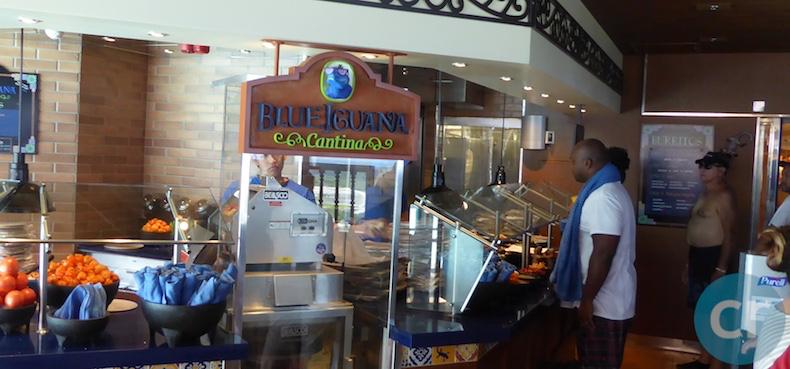 Blue Iguana Cantina | CruiseReport