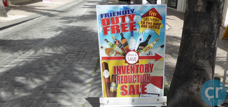 Friendly Duty Free Phillipsburg, St. Maarten | CruiseReport