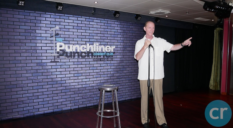 My debut as a standup comedian