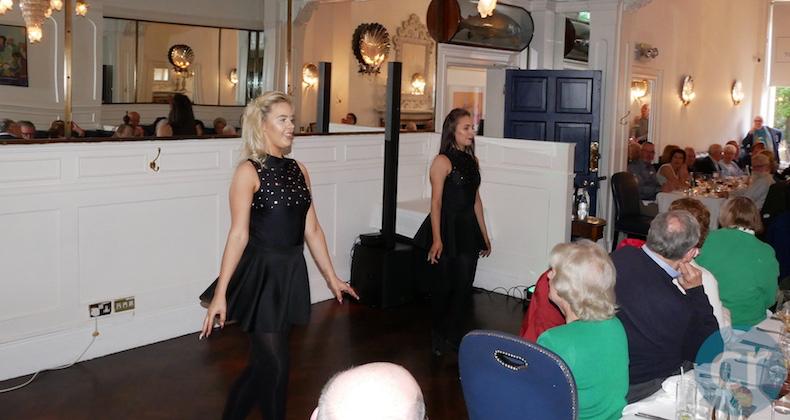 Irish dancers entertain Tauck guests