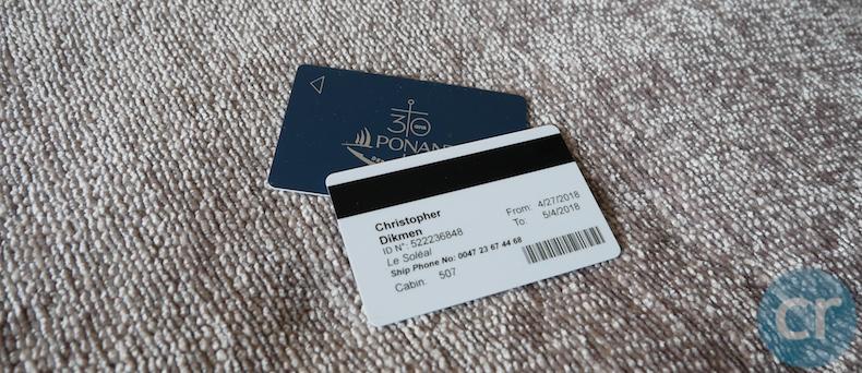 key card Le Soléal