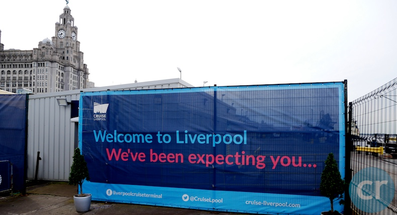 Welcome to Liverpool sign