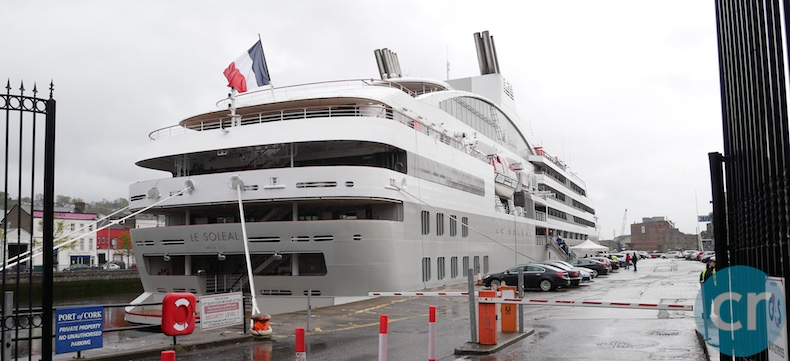 Le Soléal docked in Cork, Ireland