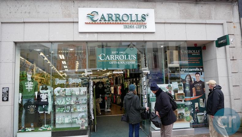Souvenir shop on St. Patrick Street
