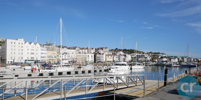 The Guernsey waterfront