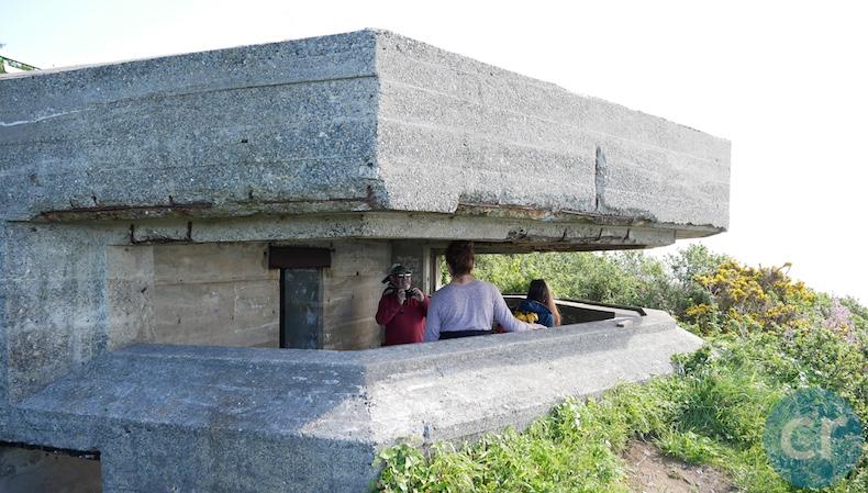 World War II German bunker on Guernsey
