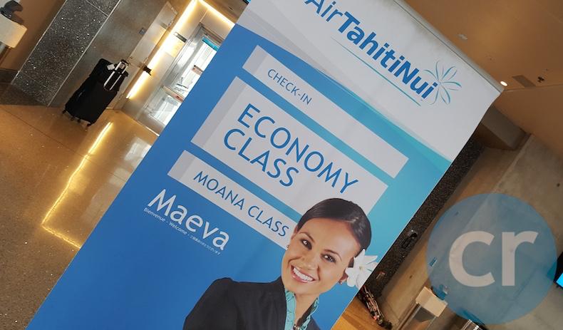 Air Tahiti Nui Economy Class