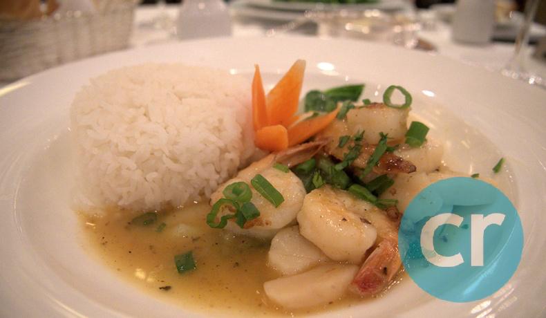 Thai Wok served at L'Etoile