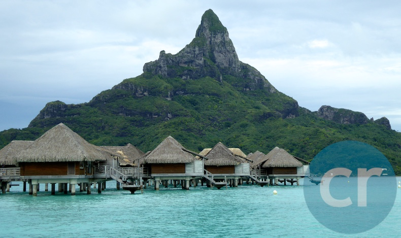 Over-the-water bungalows with this view will cost you $1,000 per night  or more