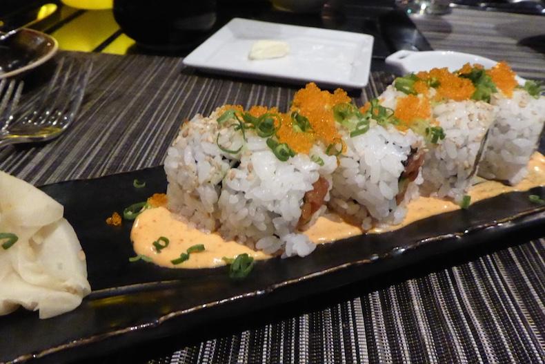 Spicy Tuna Roll at Ulu