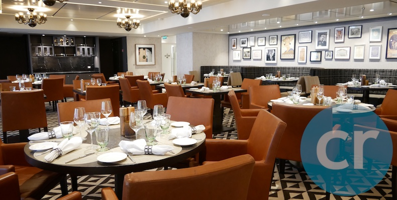 Manfredis seating | Viking Sea | CruiseReport